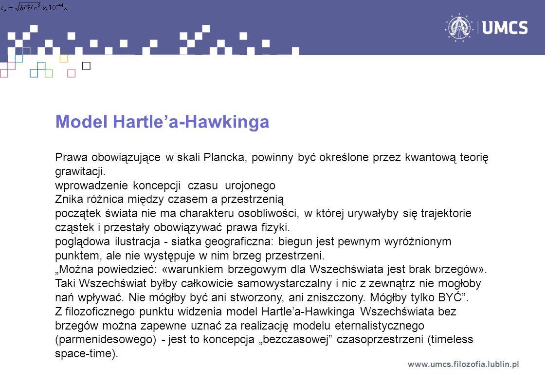 Model Hartle'a-Hawkinga