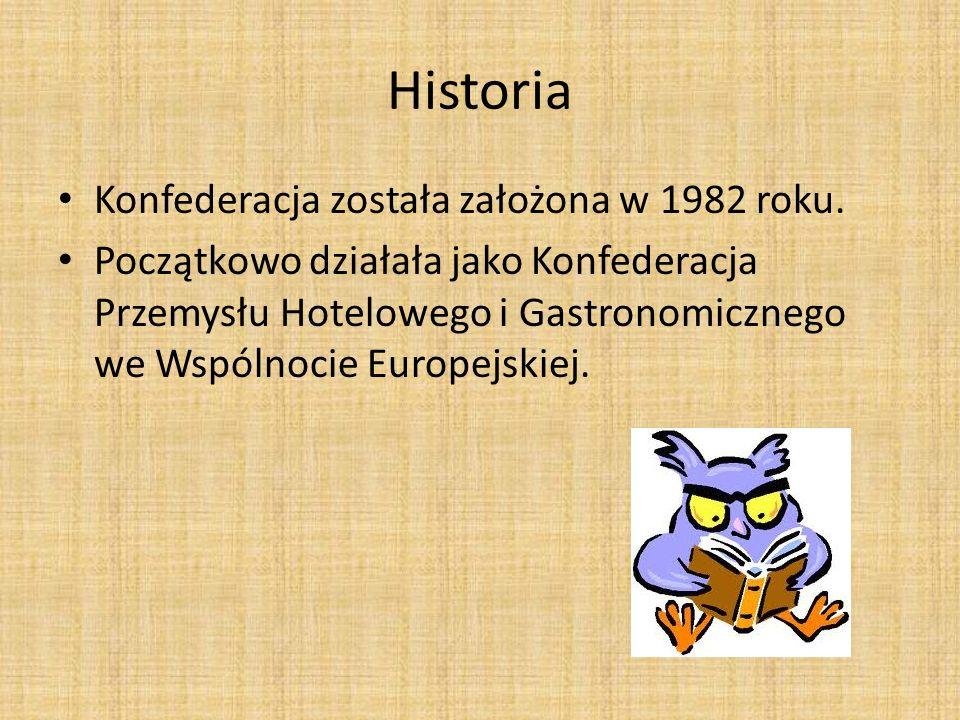 Historia Konfederacja została założona w 1982 roku.