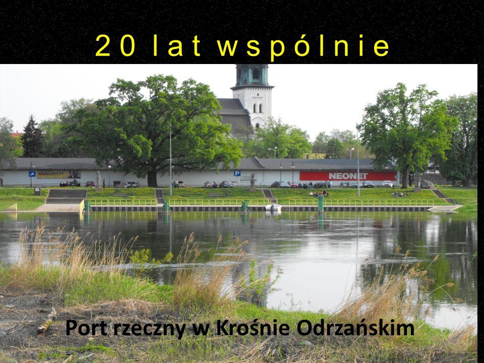 Port rzeczny w Krośnie Odrzańskim