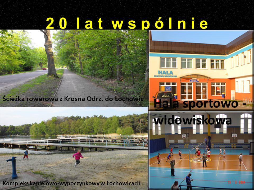 2 0 l a t w s p ó l n i e Hala sportowo - widowiskowa