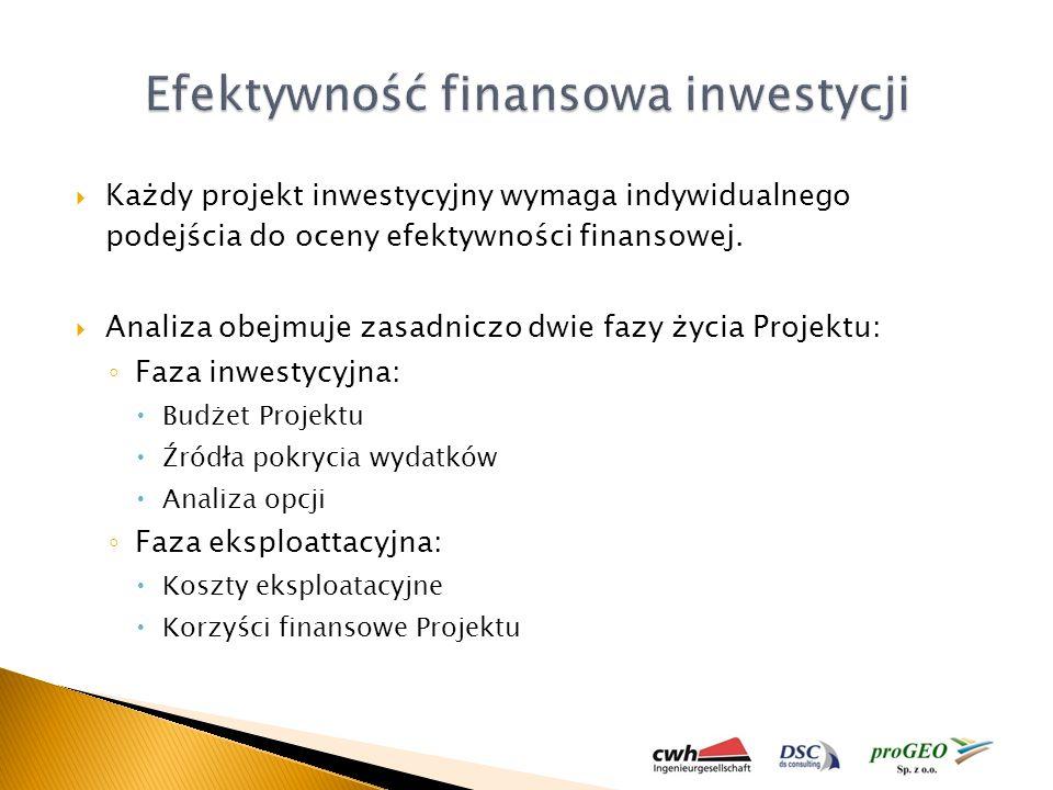 Efektywność finansowa inwestycji