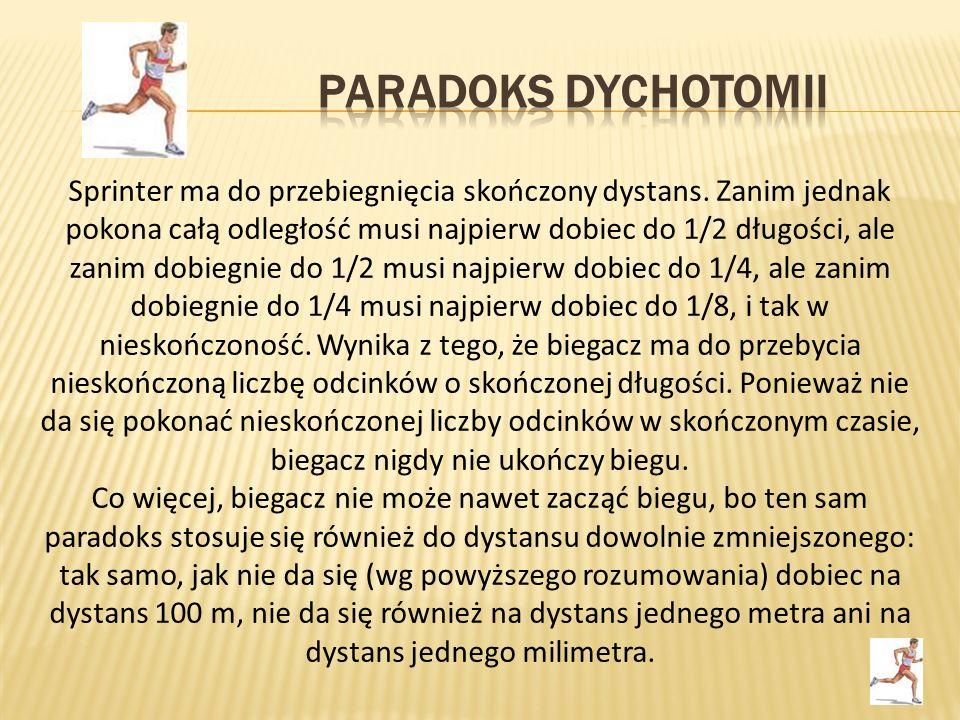 Paradoks dychotomii