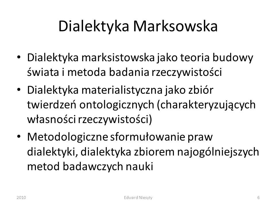 Dialektyka Marksowska