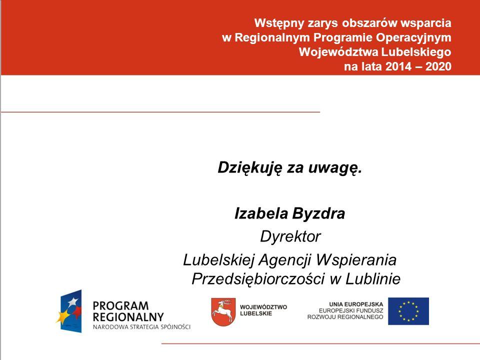 Lubelskiej Agencji Wspierania Przedsiębiorczości w Lublinie