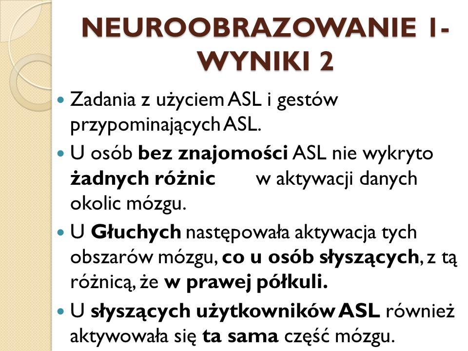 NEUROOBRAZOWANIE 1- WYNIKI 2