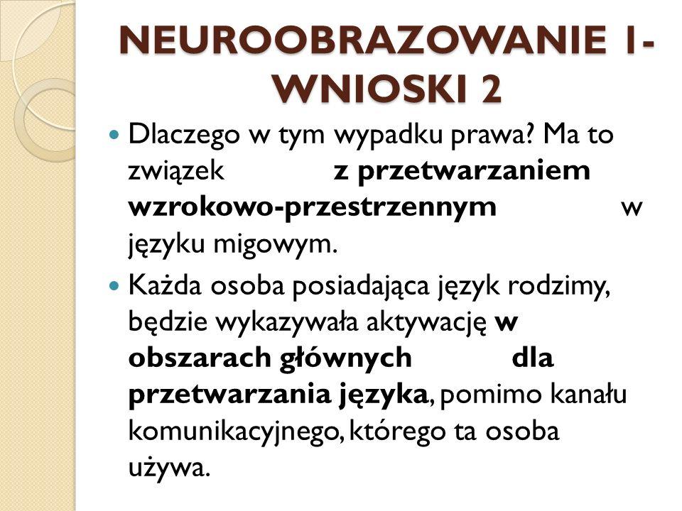 NEUROOBRAZOWANIE 1- WNIOSKI 2