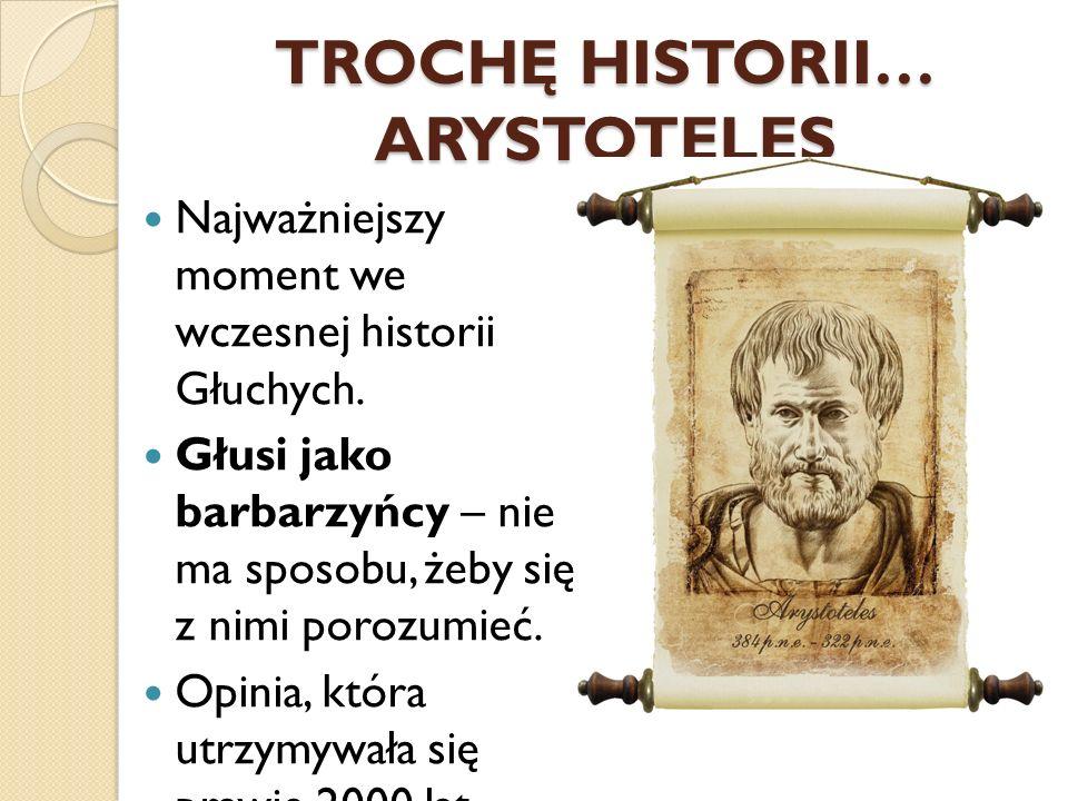TROCHĘ HISTORII… ARYSTOTELES