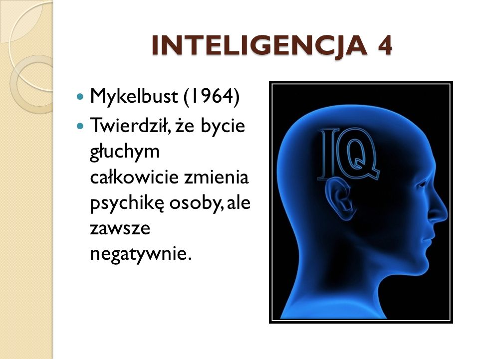 INTELIGENCJA 4 Mykelbust (1964)