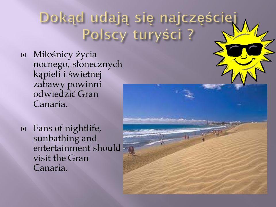 Dokąd udają się najczęściej Polscy turyści