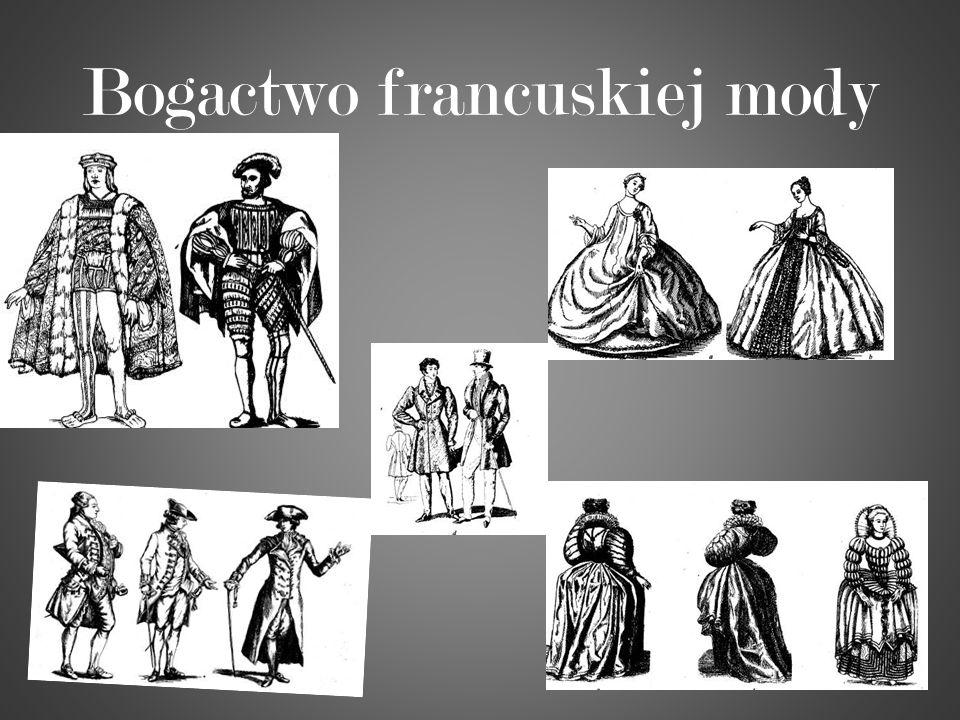 Bogactwo francuskiej mody