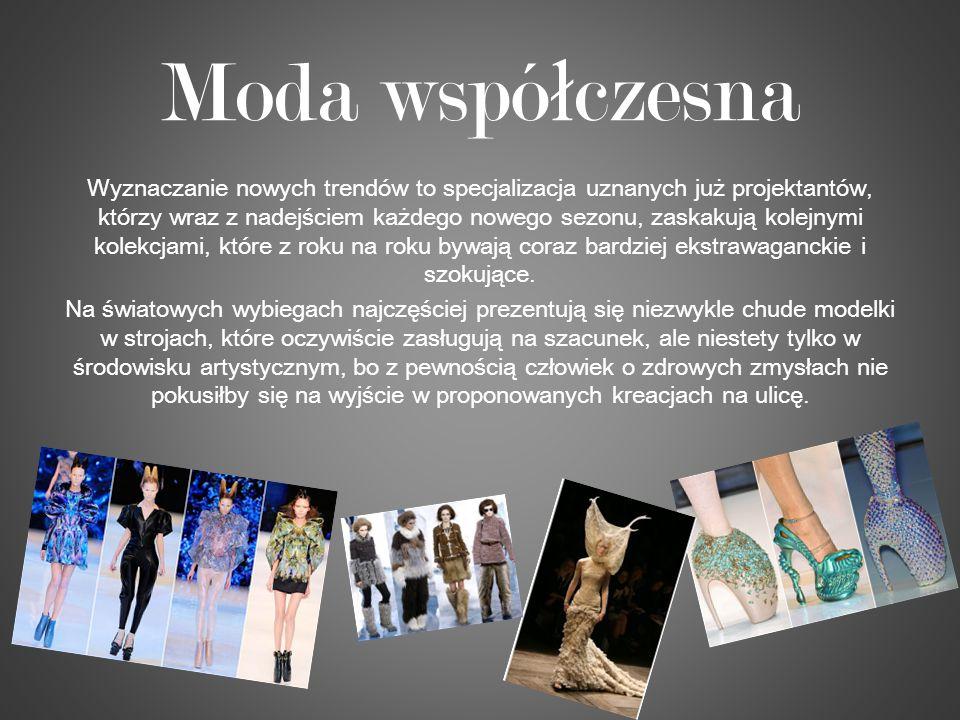 Moda współczesna