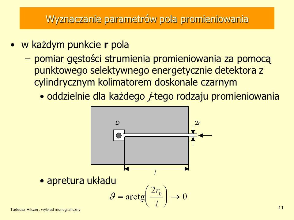 Wyznaczanie parametrów pola promieniowania