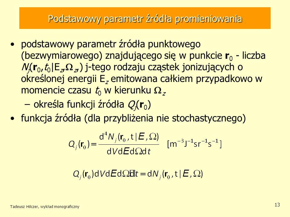 Podstawowy parametr źródła promieniowania