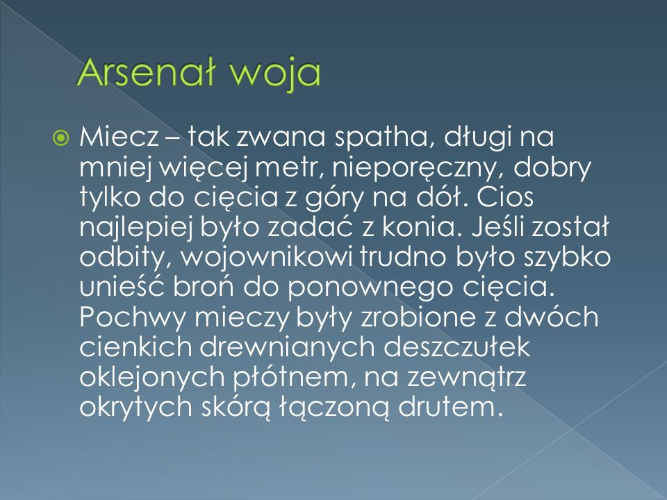 Arsenał woja