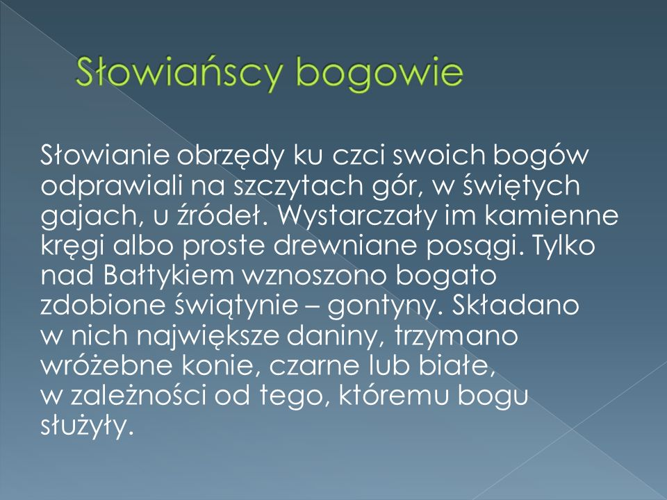 Słowiańscy bogowie