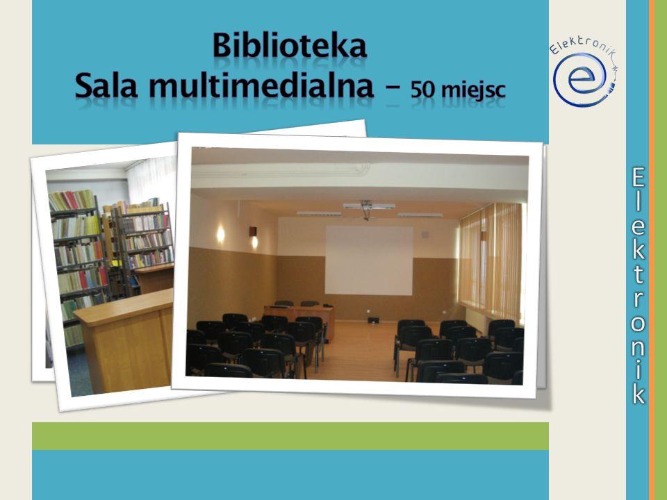Sala multimedialna – 50 miejsc