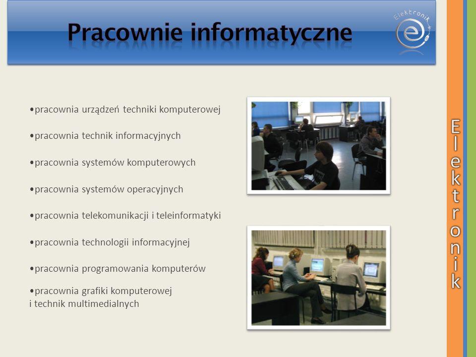 Pracownie informatyczne
