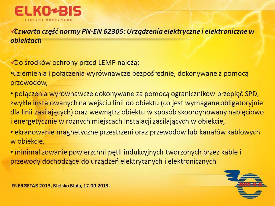 Do środków ochrony przed LEMP należą: