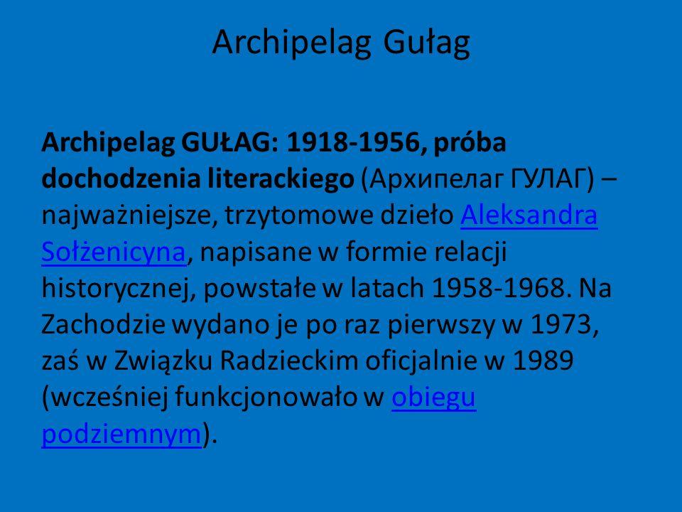 Archipelag Gułag
