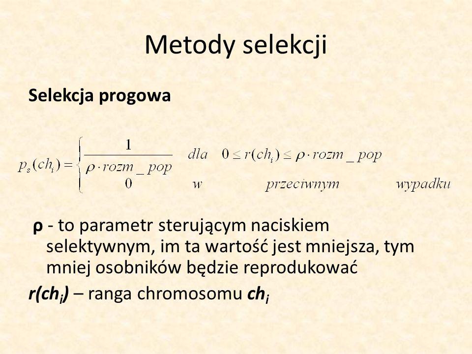 Metody selekcji