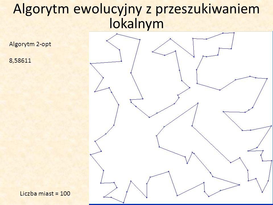 Algorytm ewolucyjny z przeszukiwaniem lokalnym