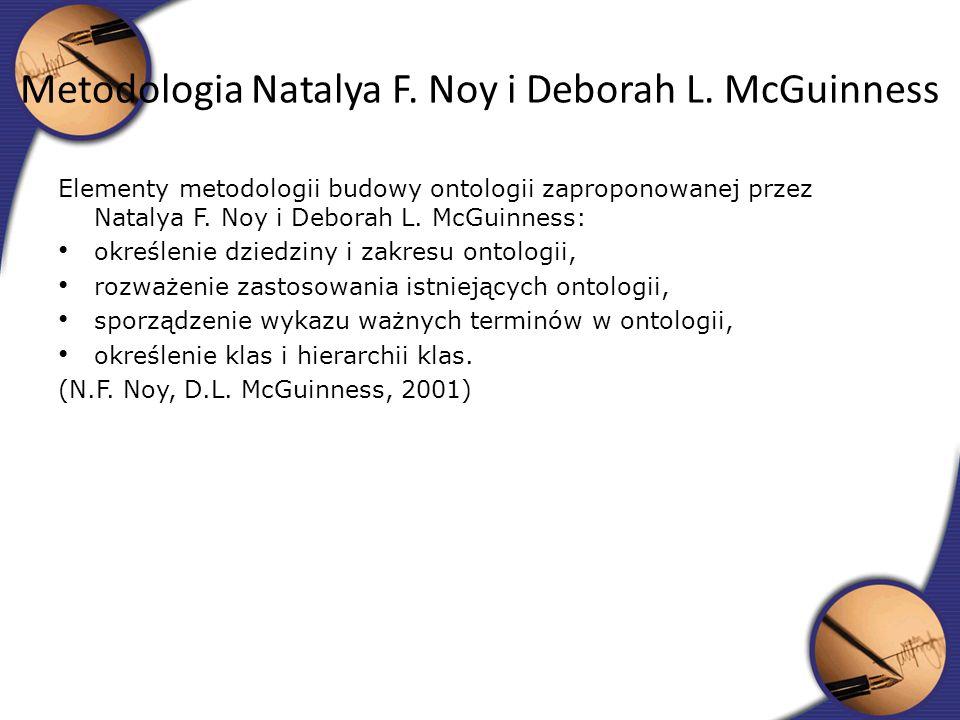 Metodologia Natalya F. Noy i Deborah L. McGuinness