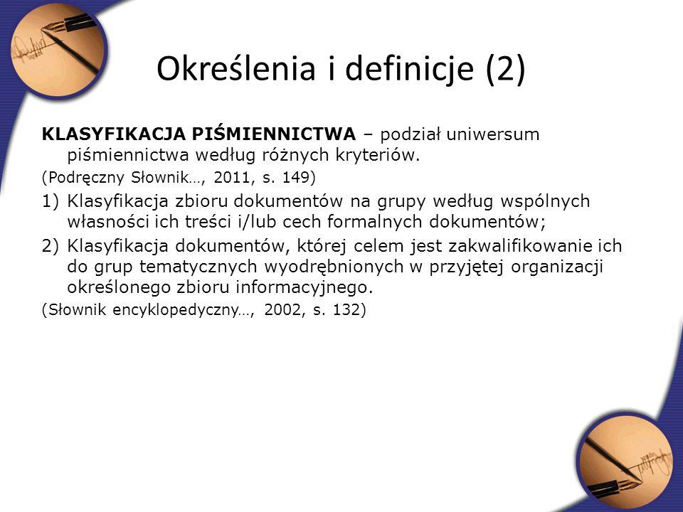 Określenia i definicje (2)