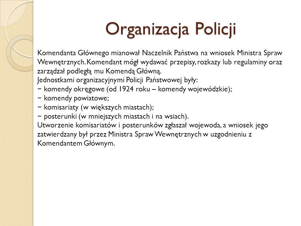 Organizacja Policji