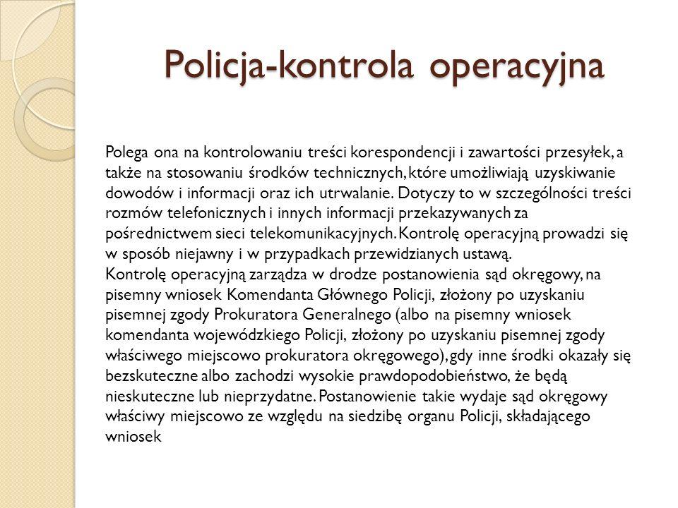 Policja-kontrola operacyjna