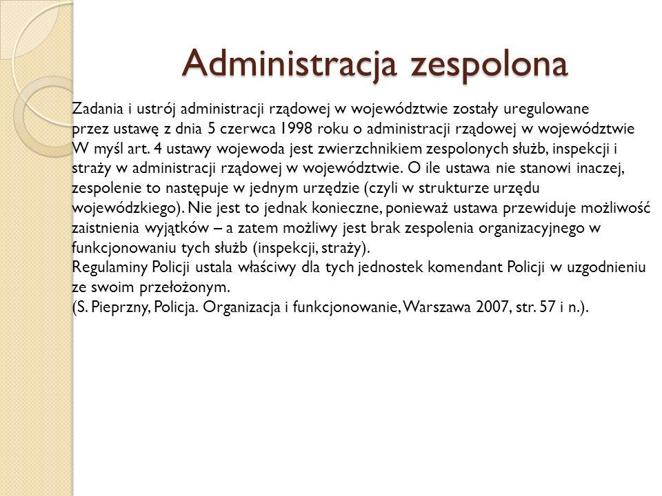 Administracja zespolona