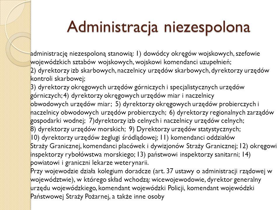 Administracja niezespolona