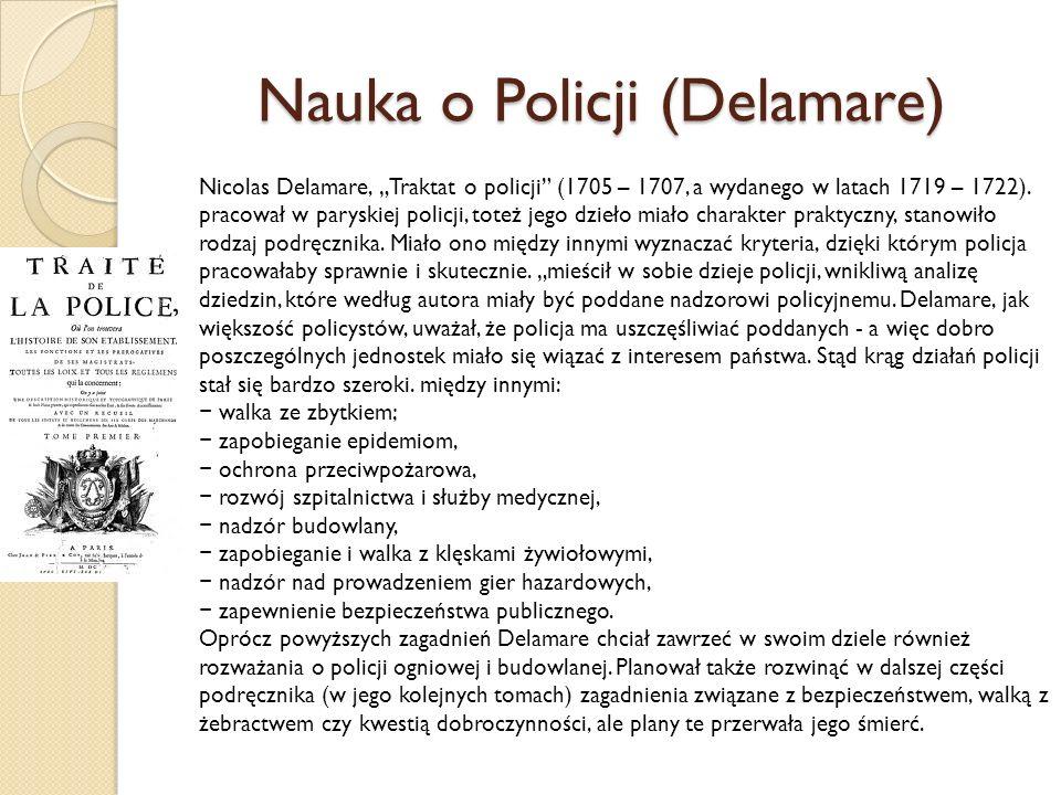 Nauka o Policji (Delamare)