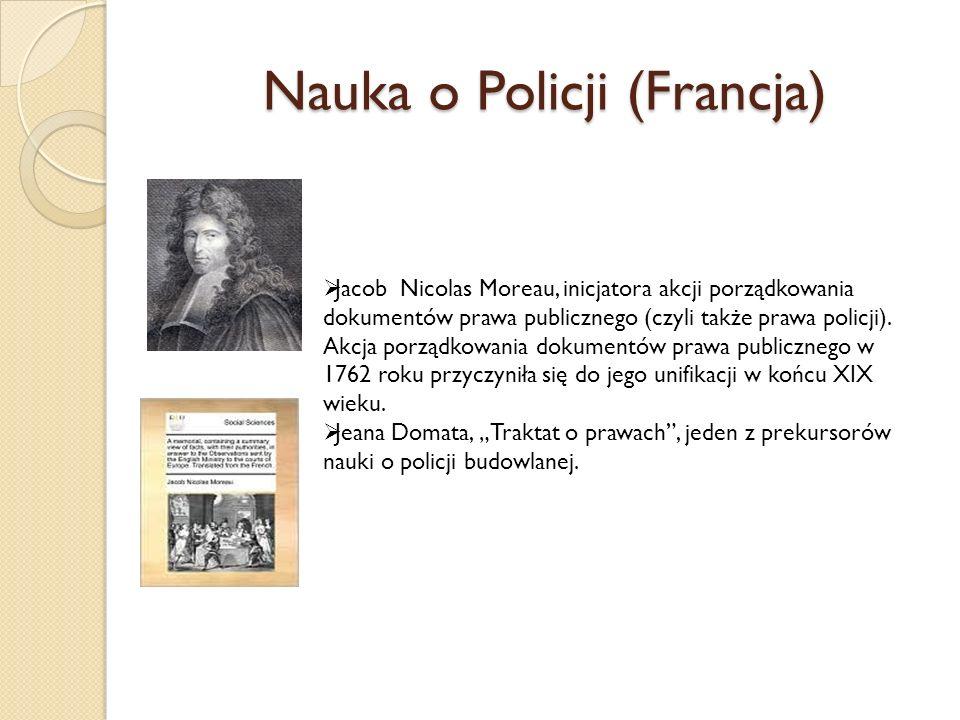 Nauka o Policji (Francja)