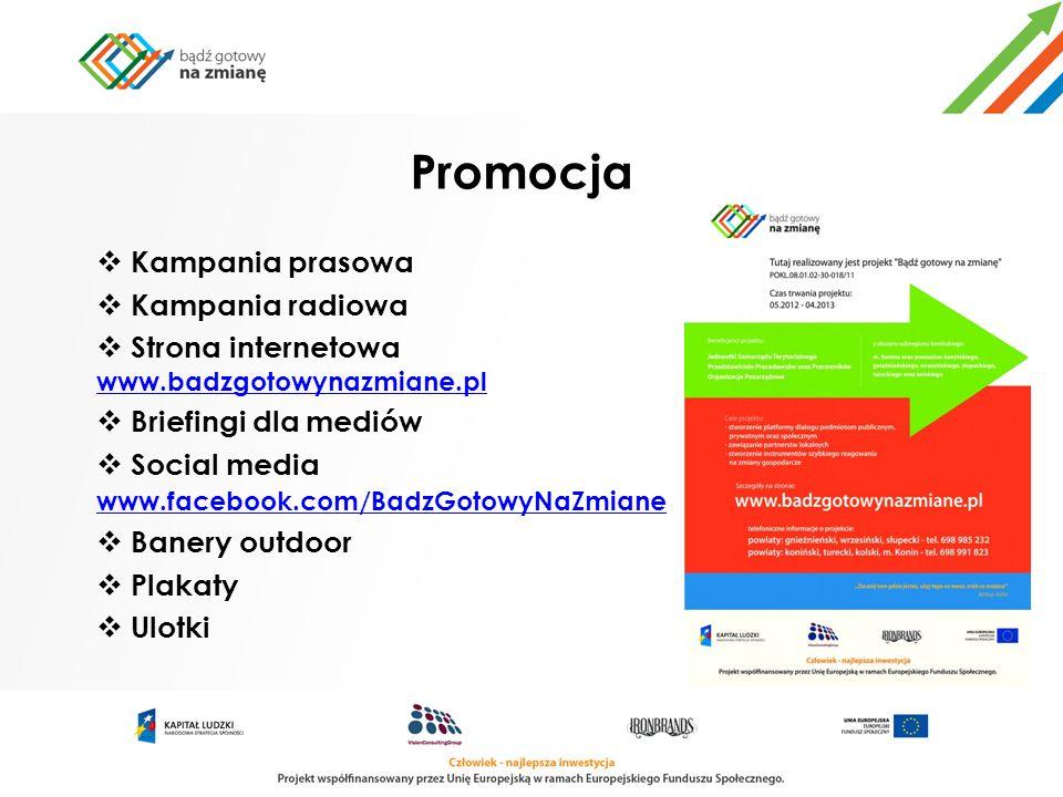 Promocja Kampania prasowa Kampania radiowa