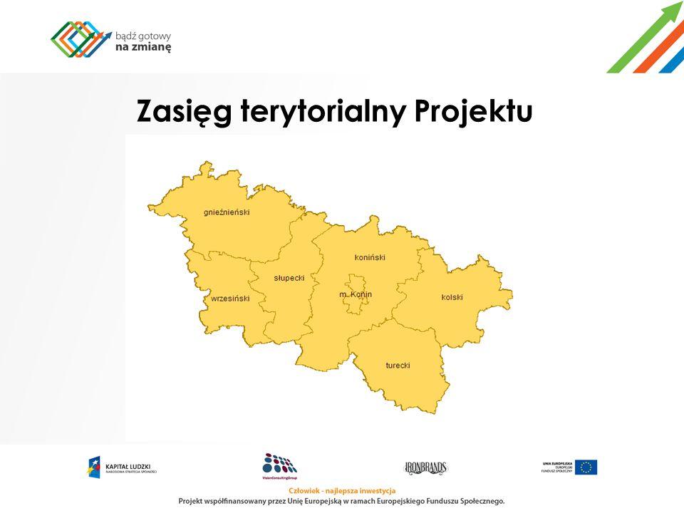 Zasięg terytorialny Projektu