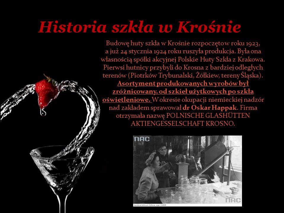 Historia szkła w Krośnie