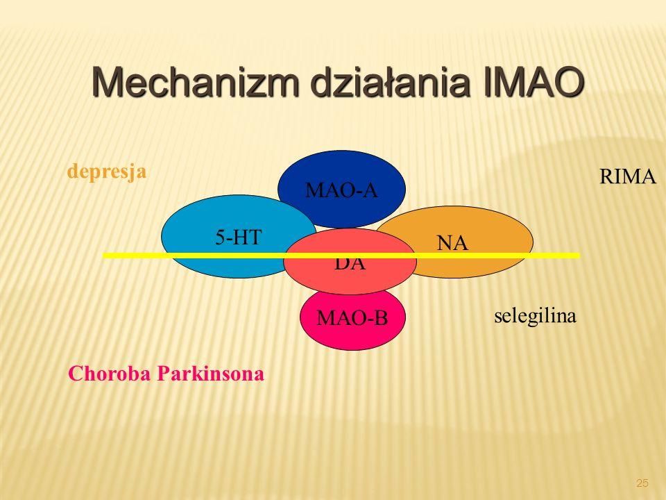 Mechanizm działania IMAO
