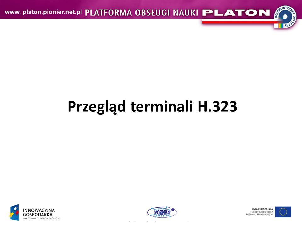Przegląd terminali H.323