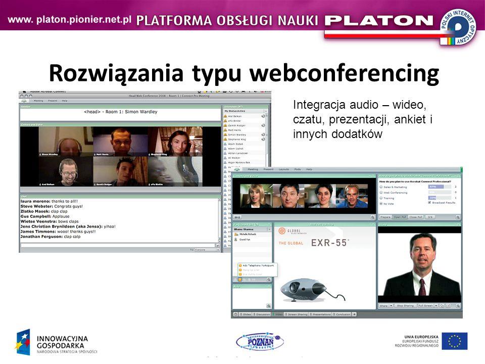 Rozwiązania typu webconferencing