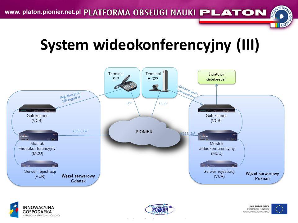 System wideokonferencyjny (III)