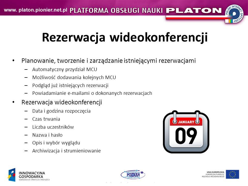 Rezerwacja wideokonferencji