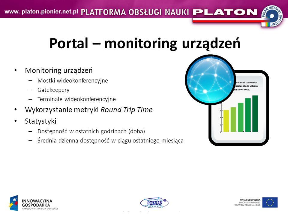 Portal – monitoring urządzeń