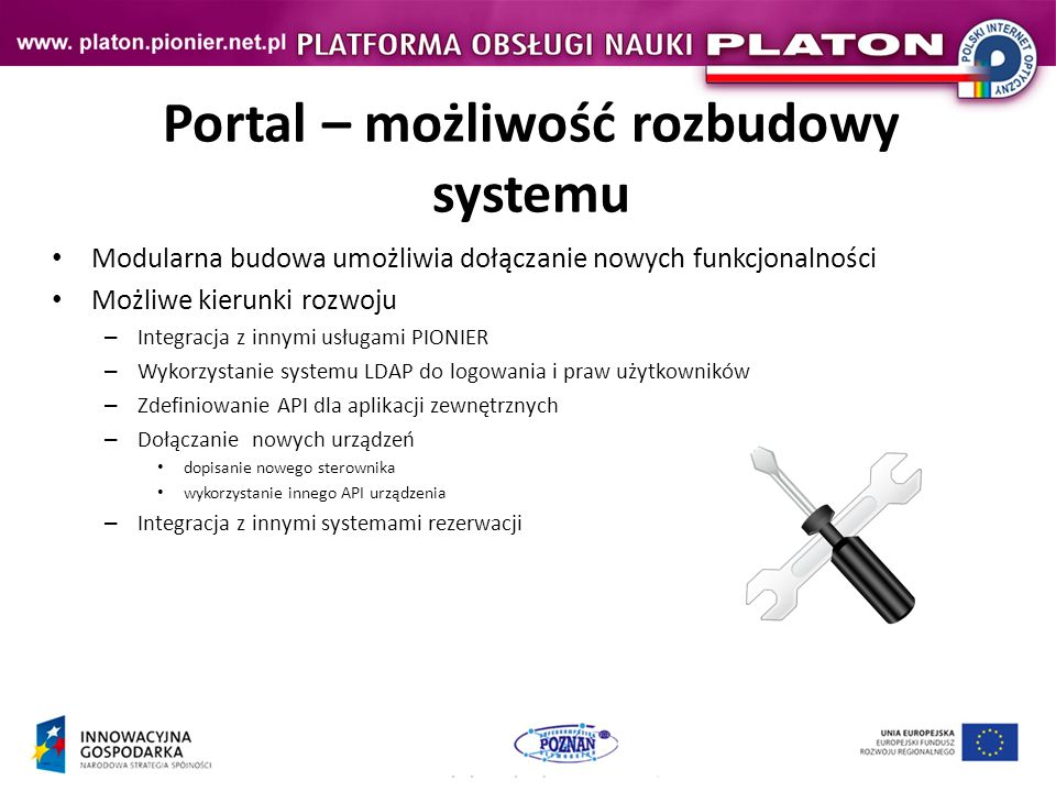 Portal – możliwość rozbudowy systemu