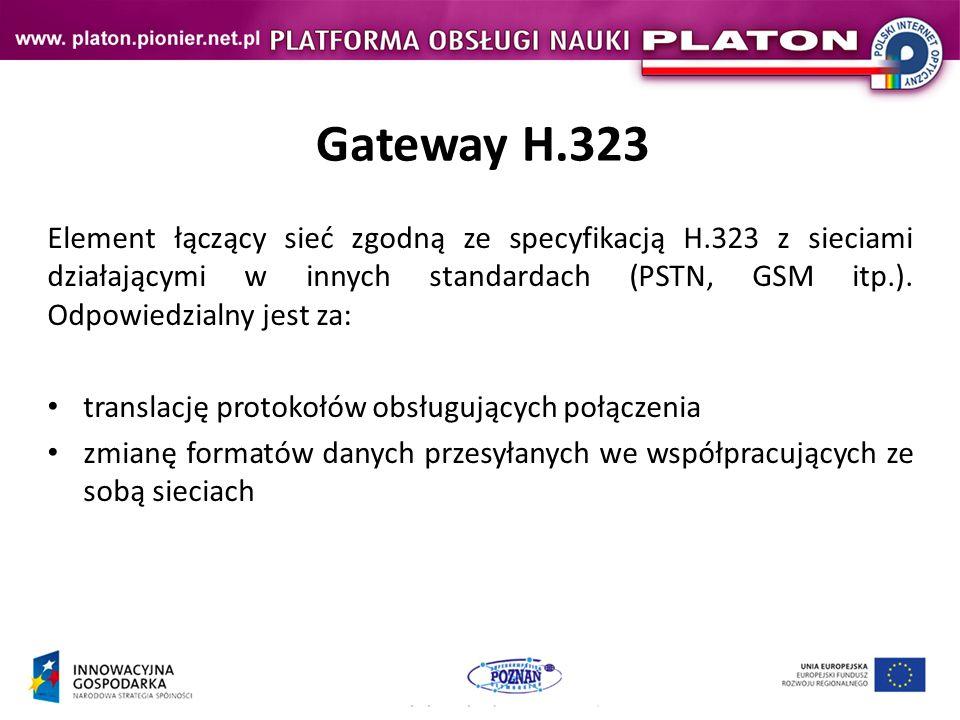 Gateway H.323