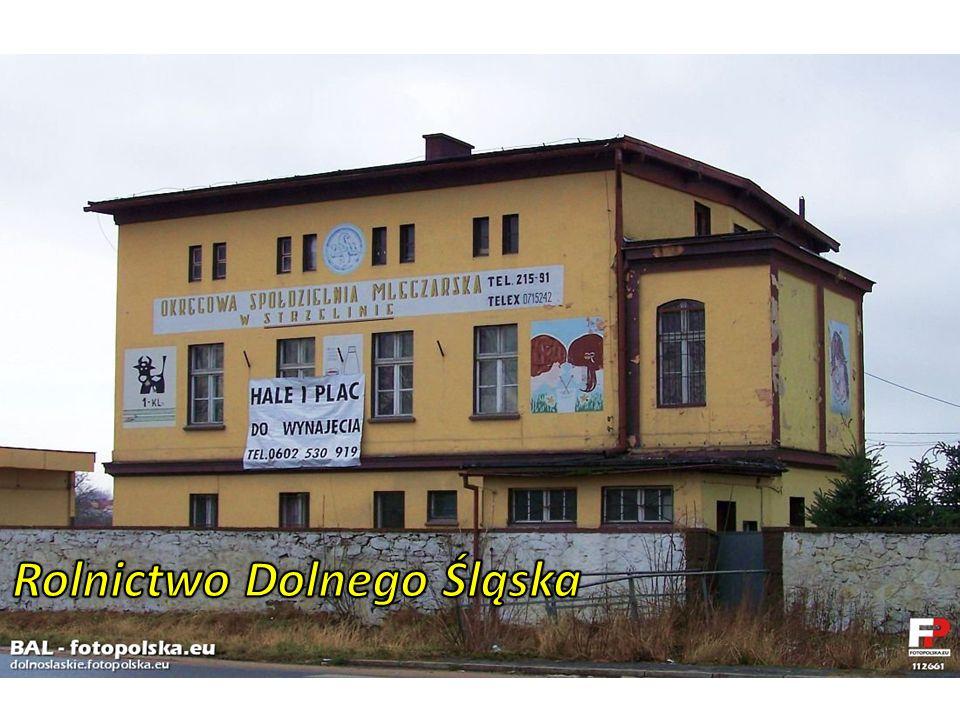 Rolnictwo Dolnego Śląska