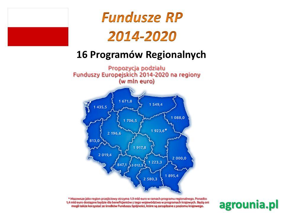 16 Programów Regionalnych