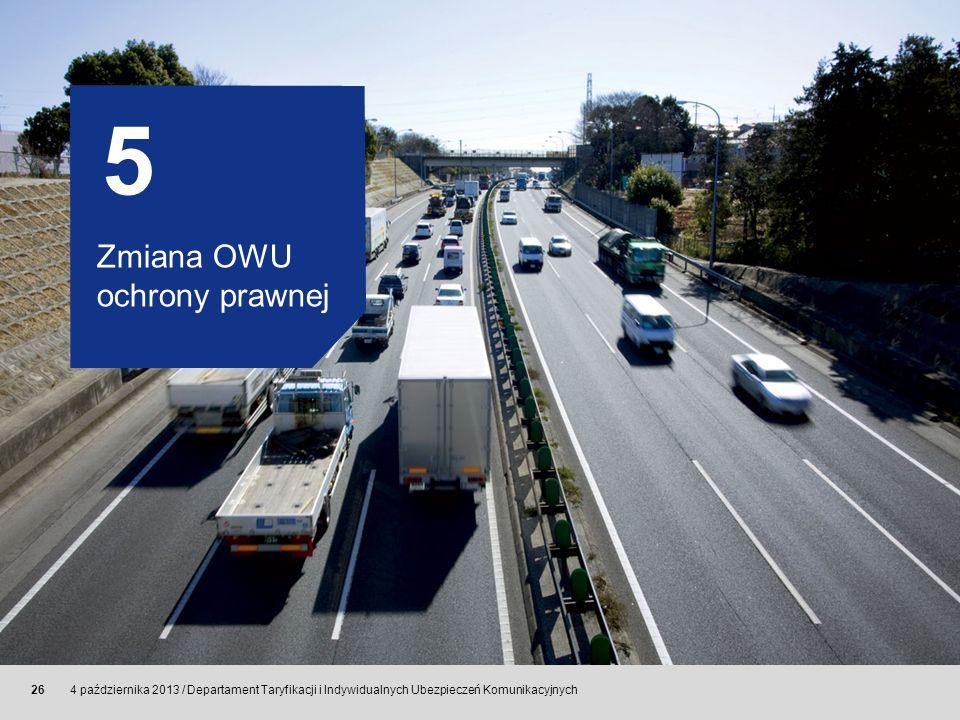 5 Zmiana OWU ochrony prawnej