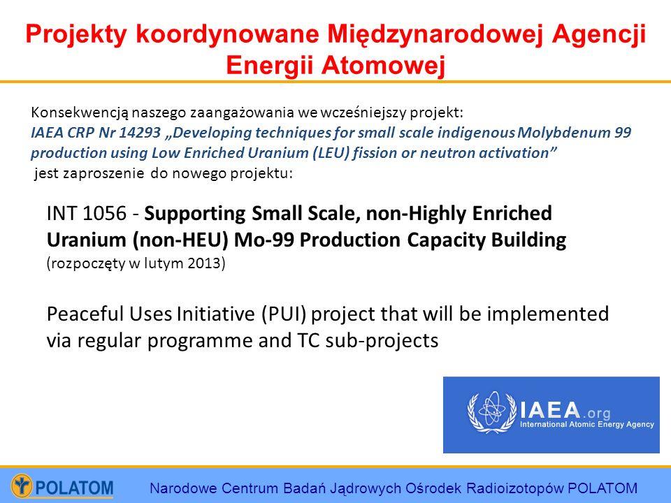 Projekty koordynowane Międzynarodowej Agencji Energii Atomowej