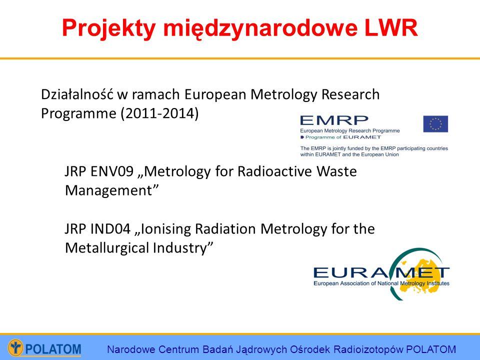 Projekty międzynarodowe LWR