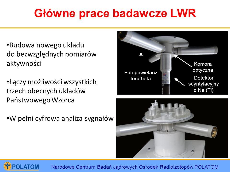 Główne prace badawcze LWR